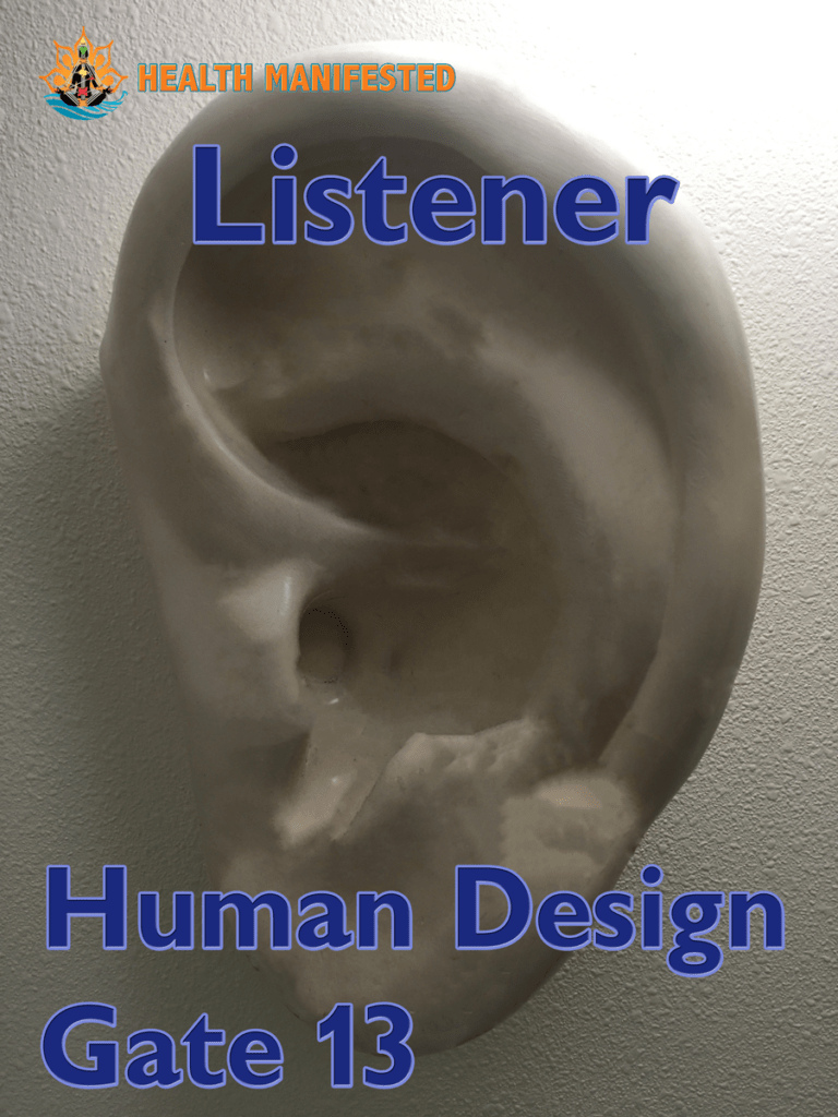 Human Design Gate 13