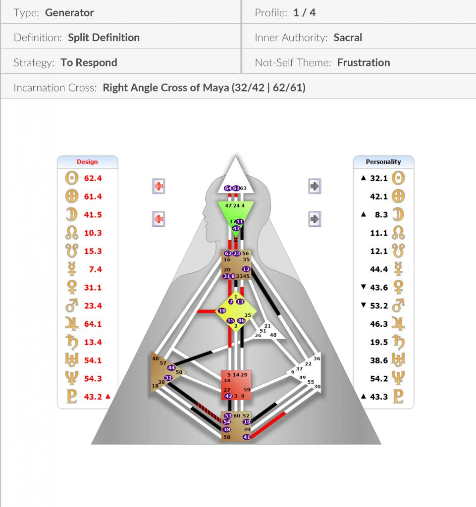 Lindsey Foy-Human Design Chart