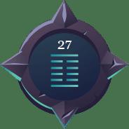 27 button